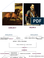 Espana en El s Xvi Carlos v y Felipe II