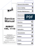 JCB Robot 190 ,1110 Skid Steer Loader Service Repair Manual