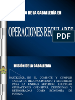 Empleo de La Caballeria en Operaciones Regulares