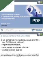 Acessibilidade Na Web w3c 2009