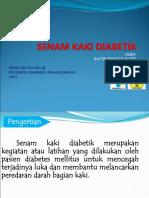 Ppt Senam Kaki Diabetik Ratih