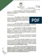 Resol. MP 726-18 - Proceso de Seleccion