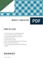 Modelo y Simulación