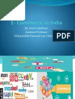 E- Commerce in India