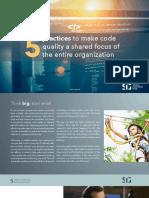 5 practices code quality