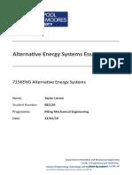 Larsen Taylor 682134 Alternative Energy CW