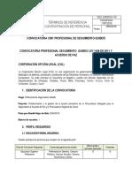 Convocatoria profesional c081 Profesional de Seguimiento-quibdo
