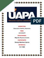 Tarea 3 de Educacion, familia y nutricion de wendy.docx