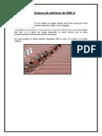 Fundamentos Técnicos de Atletismo de 5000 m