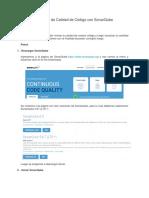 Revisión de Calidad de Código con SonarQube.docx