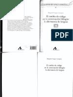 Vinagre Laranjeira, M. El cambio de código en la conversación bilingüe. La alternancia de lenguas (1).pdf