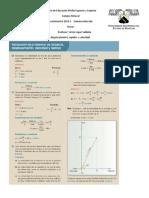 Clase # 3 Diferencia Entre Distancia y Desplazamiento, Rapidez y Velocidad