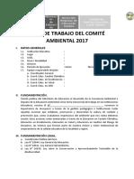 MODELO PLAN DE TRABAJO DEL COMITÉ AMBIENTAL 2017.docx