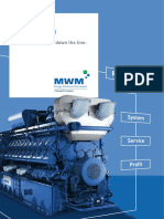 MWM TCG 2020V16 Engine Technical Specification