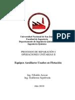 Equipos Auxiliares Usados en Flotación.PDF