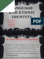 Language and Ethnic Identity (1)