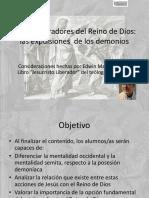 Presentacios PPT Sobre La Expulsion de Los Demonios