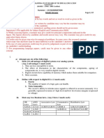 17333 2014 Summer Model Answer Paper