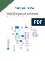 Mappa Concettuale Crisi Del 1300
