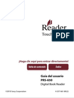 Manual PRS 650