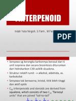Terpenoid Triterpenoid 2016 5