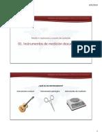 01 Instrumentos de Medición