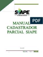 Cadastror Parcial - Habilitador SIAPE - Manual 2013