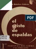 El Cristo de espaldas. Eduardo Caballero Calderón..pdf