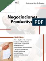 Curso Negociaciones Productivas