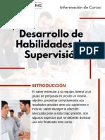 Curso Desarrollo de Habilidades de Supervisión