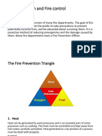 Fire prevention and control