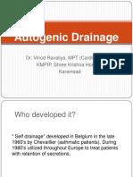 AUTOGENIC DRAINAGE DAN FLUTTER pdf | Exhalation | Breathing
