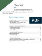 Tecnología HP PageWide