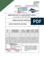 Uzgtl Foo Pip Pc 00-0-0004_inspection Test Procedure