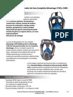 Ficha Proveedor Mascara de Rostro Completo Msa Advantage 3200 39213