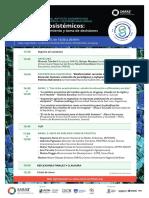 Instituto Saras. Conferencia 2018 en Servicios Ecosistémicos
