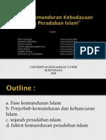 SKI Sejarah Dan Pembaruan Islam Di Minangkabau