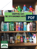 2019 Consumer Shopping Guide 1,4 Dioxane