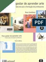 Rosa Iavelberg - Para Gostar de Aprender Arte (Artmed, 2003)