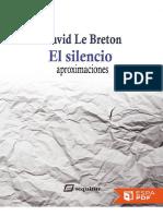 El silencio - David Le Breton.pdf