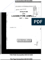 Air Force Liaison Plane History