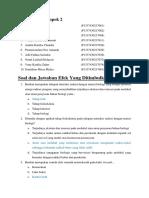 Soal Efek Yang Ditimbulkan Sinar-X  materi 3.docx