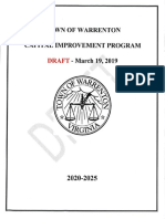 Town of Warrenton draft CIP_March 2019