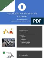01Introdução Aos Sistemas de Controle