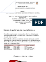 cables de potencia de media tension