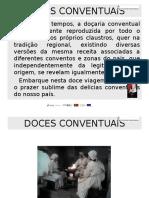 DOCES CONVENTUAIS-Apresentação