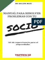 Manual de Solucion de Conflictos Entre Socios - TACTICA