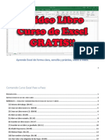 Vídeo Libro Curso Excel Completo GRATIS
