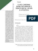 Lacan e política Dunker
