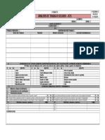 F-SSOMA-13 Análisis de Trabajo Seguro -ATS